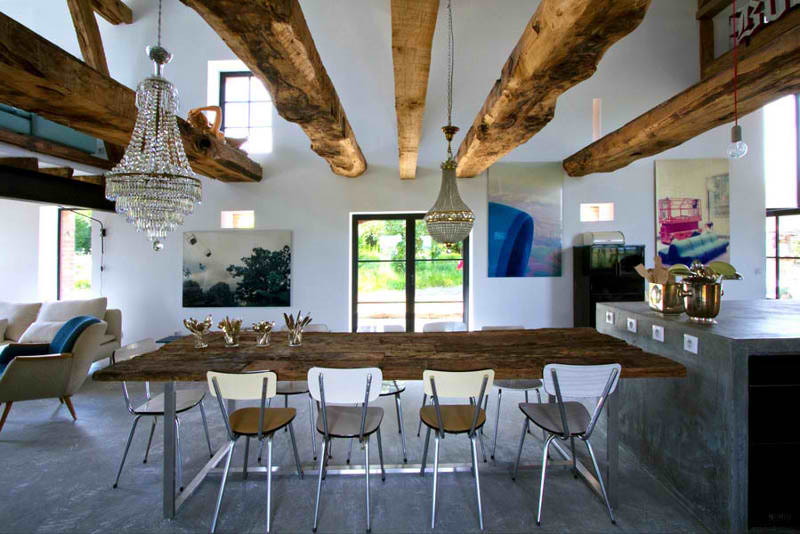 Modern Rustic Style at Home Oliver Burns