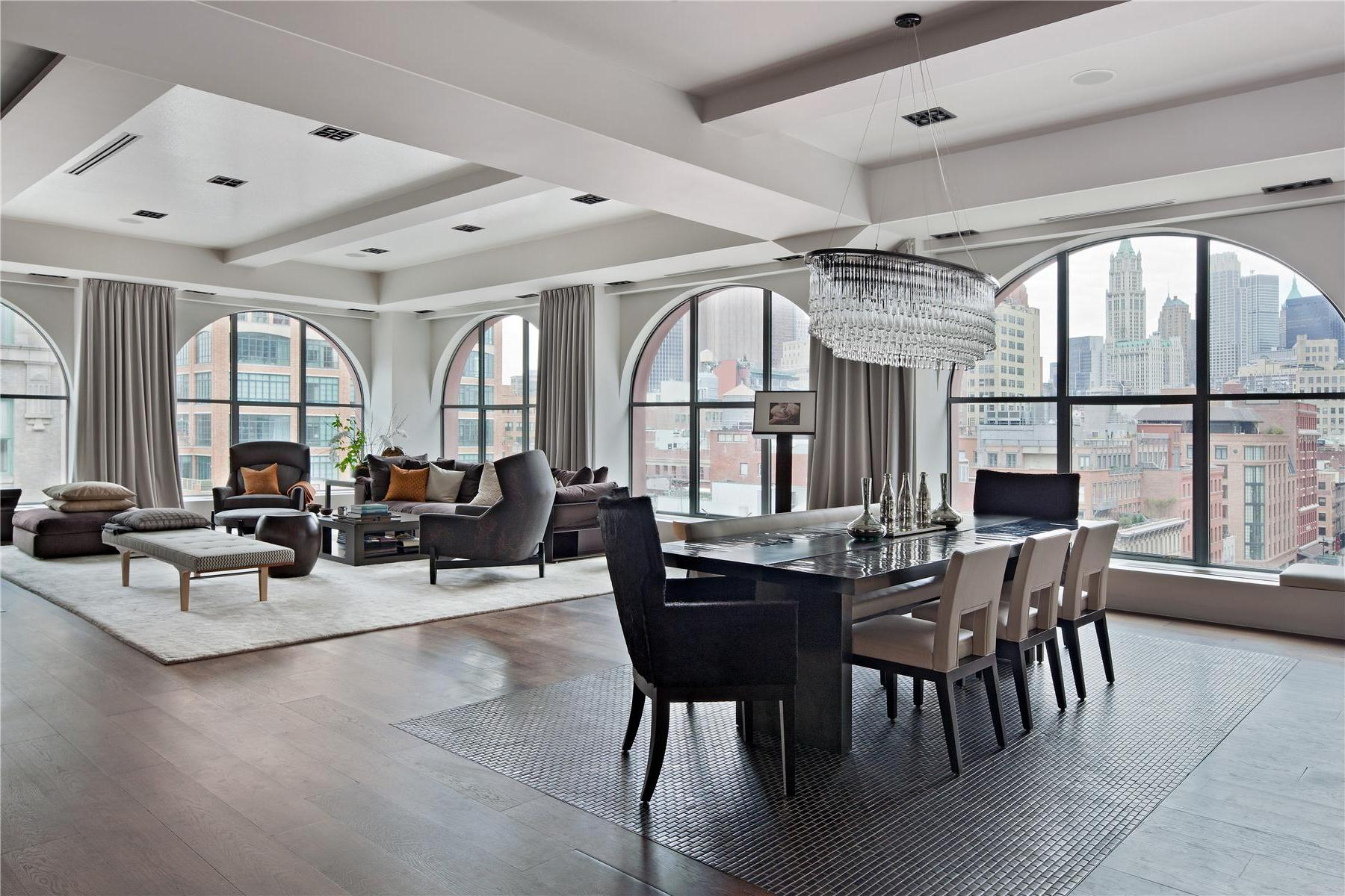 New york loft living oliver burns for Loft new york affitto